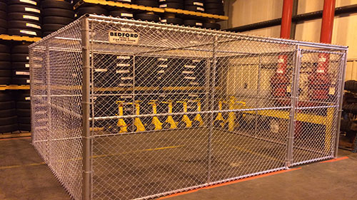bedford fence commerical chainlink fences
