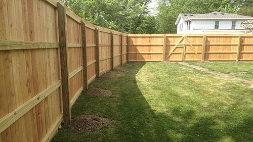bedford fence wood fence